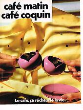 Werbung Werbung 104 1982 Kaffee am Morgen Café coquin ça wärmt die Leben