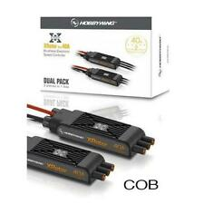 HobbyWing XRotor PRO 40A Brushless ESC Dual Pack Speed Control COB Direct Connec