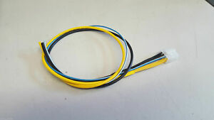 ALPINE SWE-3200 ACTIVE SUBWOOFER SUB 8 PIN 3 WIRE POWER PLUG CABLE LEAD ATX