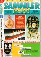 SAMMLER MARKT International - Magazin Heft Flohmarkt Auktionen - 4/2002 - B15059
