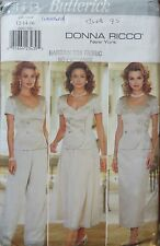 Butterick sewing pattern no.4443 womens unused donna ricco size 12,14,16