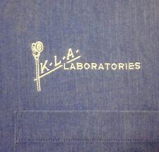 KLA LABORATORIES radio transmission XL longsleeves Detroit button-down shirt