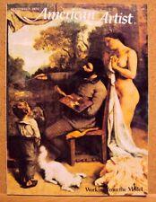 American Artist Magazine September 1975 Back Issue Study Painting Improve Skill