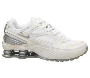 Nike Shox Enigma 9000 Phantom Silver White Trainers