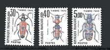 Timbres Taxe 1983- Insectes- Yvert et Tellier n° 109-110-112