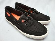 Womens Sperry Paul Sperry Sayel Away Canvas Sneakers Black Size 7