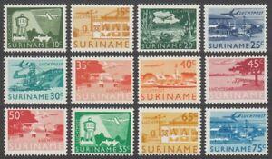 Suriname, 1965 AIR Set of 12. SG 551-62 Unmounted Mint MNH