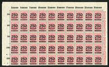 Reich 295 half vel (50 zegels) postfris