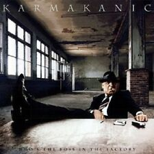 """KARMAKANIC """"WHO´S THE BOSS IN THE FACTORY"""" CD NEW+"""