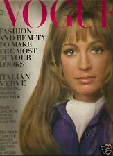 Vogue April 1969 Italian Collections-Agnellis-Capote-Cardinale-Donyale Luna
