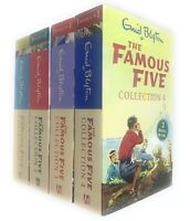 The Famous Five 4 Book 12 Story Collection By Enid Blyton - GIFT