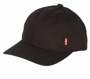 Levi's Classic Twill Curve Cap ~ Red Tab black