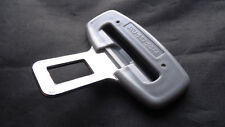 VW METAL Gris Hebilla para la alarma del Cinturón De Seguridad Llave bandeja