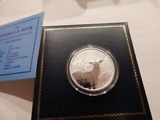 """2010 SILVER """"AMERICAN BUCK"""" MADE TO THE SILVER DOLLAR SPECIFIACTIONS"""