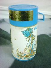 ALADDIN THERMO BOTTLE HOLLY HOBBIE POPTOP KEEPS HOT OR COLD 8OZ COLLECTIBLE