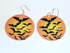 acrylique halloween Boucles d'oreilles - chauve-souris qui vole cg1473