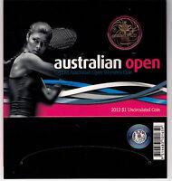 2012 RAM $1 UNC Australian Womens Open - in cardboard presentation stand