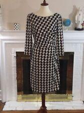 🌹Lauren Ralph Lauren Black cream dress Size 12🌹