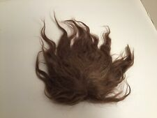 Antique Brown Mohair Doll Wig - Needs Attention