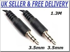 3.5mm Male A toA Jack Stereo Speaker Headphone Audio Cable Adapter MP3 Extension