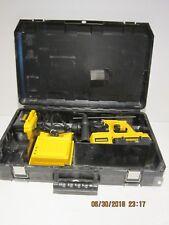 DeWalt DC233KL 36V cordless SDS Rotary Hammer Kit, SET & BATTS REFURBISHED F/SHP