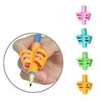 1X Children Pencil Holder Writing Hold Pen Aid Grip Posture Correction Tool Soft
