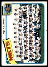 1980 Topps #259 New York Mets CL/Joe Torre MG VG-VGEX *17