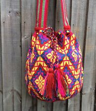 REDUCTIONS!!!! Authentique Colombian Wayuu  mochila una hebra!