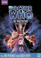 Doctor Who - The Three Doctors (Dvd, 2012, 2-Disc Set, Special Edition) Story 65