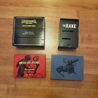 Wooden Cigar Boxes Empty God of Fire Chillin' Moose Pimp Stick The Rake Lot 4