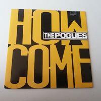 "The Pogues - How Come - Green Ltd Edition Vinyl 7"" Single UK 1st Press - EX+/EX+"
