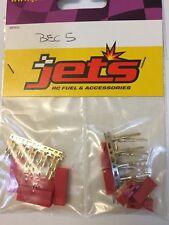 Jet's Connettore BEC Set 5 Maschi + 5 Femmine connector buggy losi mugen hsp RK