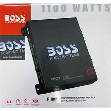 Boss Audio R1100M Monoblock-Verstärker 1100W A/B Verstärker KFZ Auto Endstufe