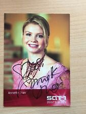 Autogrammkarte - ANNETTE FRIER - COMEDY - orig. signiert #463