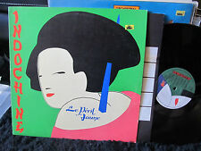 INDOCHINE LE PERIL JAUNE VERY RARE Péril LP 1983 french press synth new wave oop