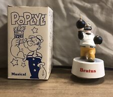 """Vintage Popeye's Brutus Friend """"King Of The Road"""" Music Box"""