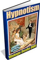HYPNOTISM 82 Vintage Books on DVD Mesmerism,Mind Control,Telepathy,Hypnosis