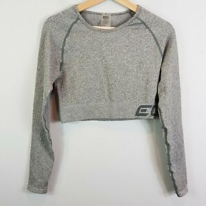 ECHT | Womens Arise Comfort Cropped Top  [ Size L or AU 12 / US 8 ]