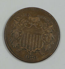1870 Two-Cent Piece VERY FINE 2-Cents