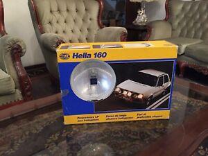 Hella 160 Halogen Fog Light Bumper 70s 80s Driving Lamps & Covers HELLA VW Golf