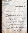 "SAINT-AMAND-MONTROND (18) MENUISERIE & CHARPENTE ""A. BRIGAUD"" en 1808"