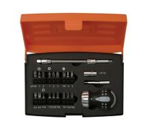 Bahco 808050S-22 22 Piece Stubby Ratchet Screwdriver & Bit Set