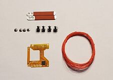 PS4 DS4 MOD KIT PROGRAMMABLE REMAP BOARD W/ 2 RED PADDLES DIY BUTTON MAPS 2U