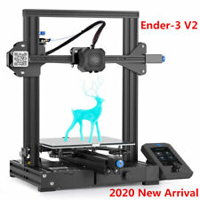 Upgrade Creality Ender-3 V2 3D Printer Mean Well Power Glass Bed 220X220X250mm