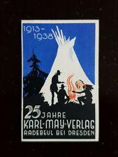 Karl May Verlag Radebeul Werbevignette 25 Jahre 1913-1938