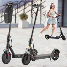 E-Scooter Elektroroller 350W 32km/h Roller mit Sitz Helm Smart LED Fahrradhelm