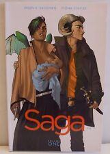 Saga Volume 1 Brian K. Vaughan Fiona Staples PB Graphic Novel Comic Book