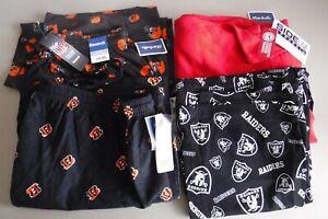 Men's Pajama Bottoms/Lounge Pants Size Sz 2XL Sport Team Lot of 4 OSU Browns