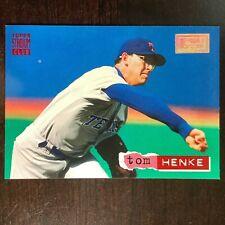 1994 Tom Henke Topps Stadium Club 1st Day Issue #19 Texas Rangers