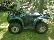 2007 Yamaha Grizzly 400 YFM4FGWGR 4x4 with plow (local pickup only)